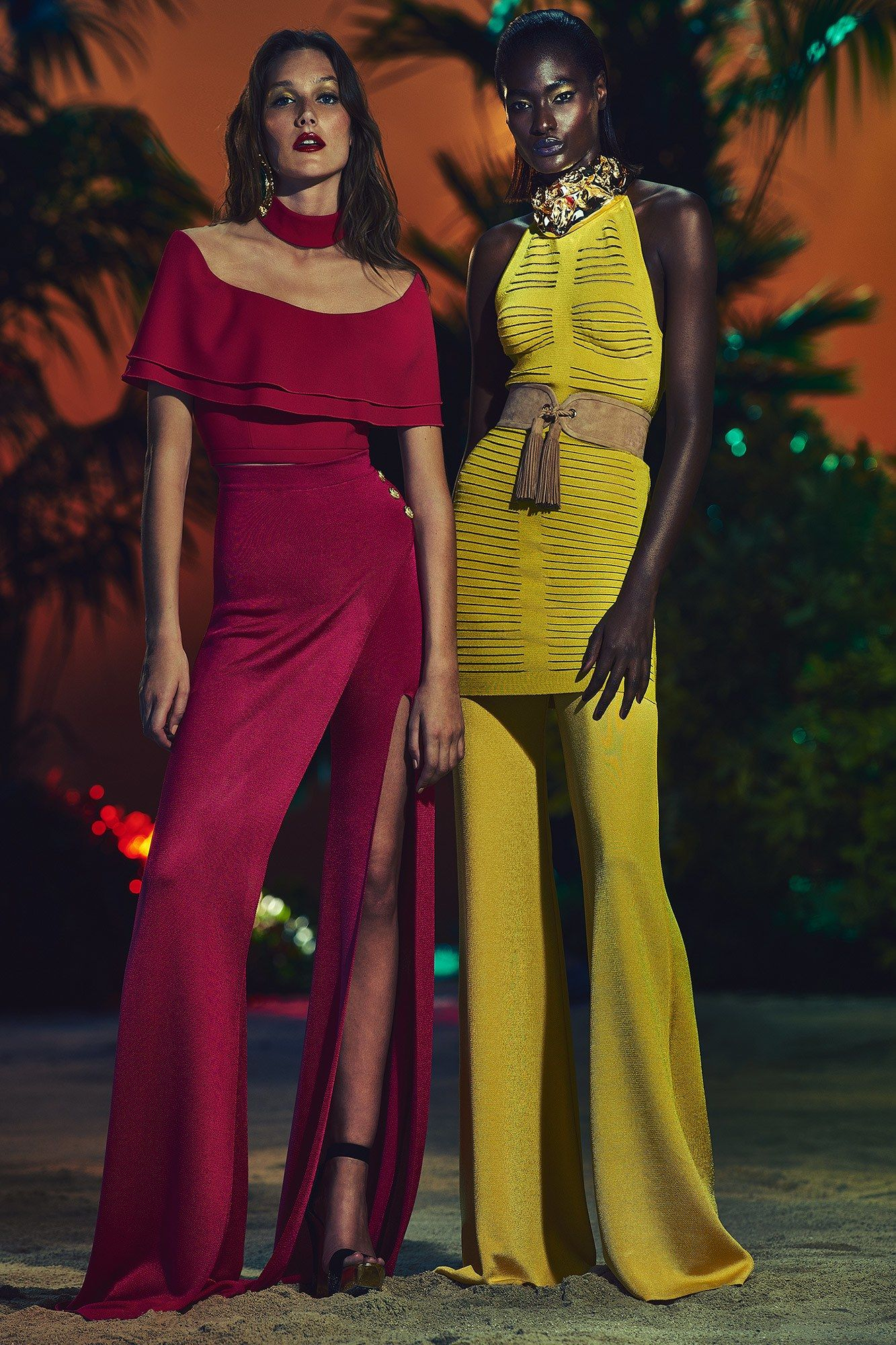 Breathing color balmain dresses