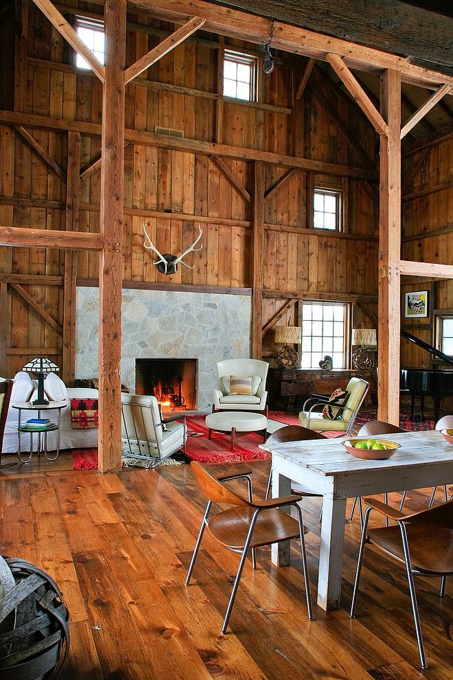 Michigan Barn By Northworks Architects And Planners Barn Living Barn Renovation Barn House Plans