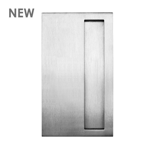 Rectangle Flush Pull 200x115 Plain Door Furniture Door