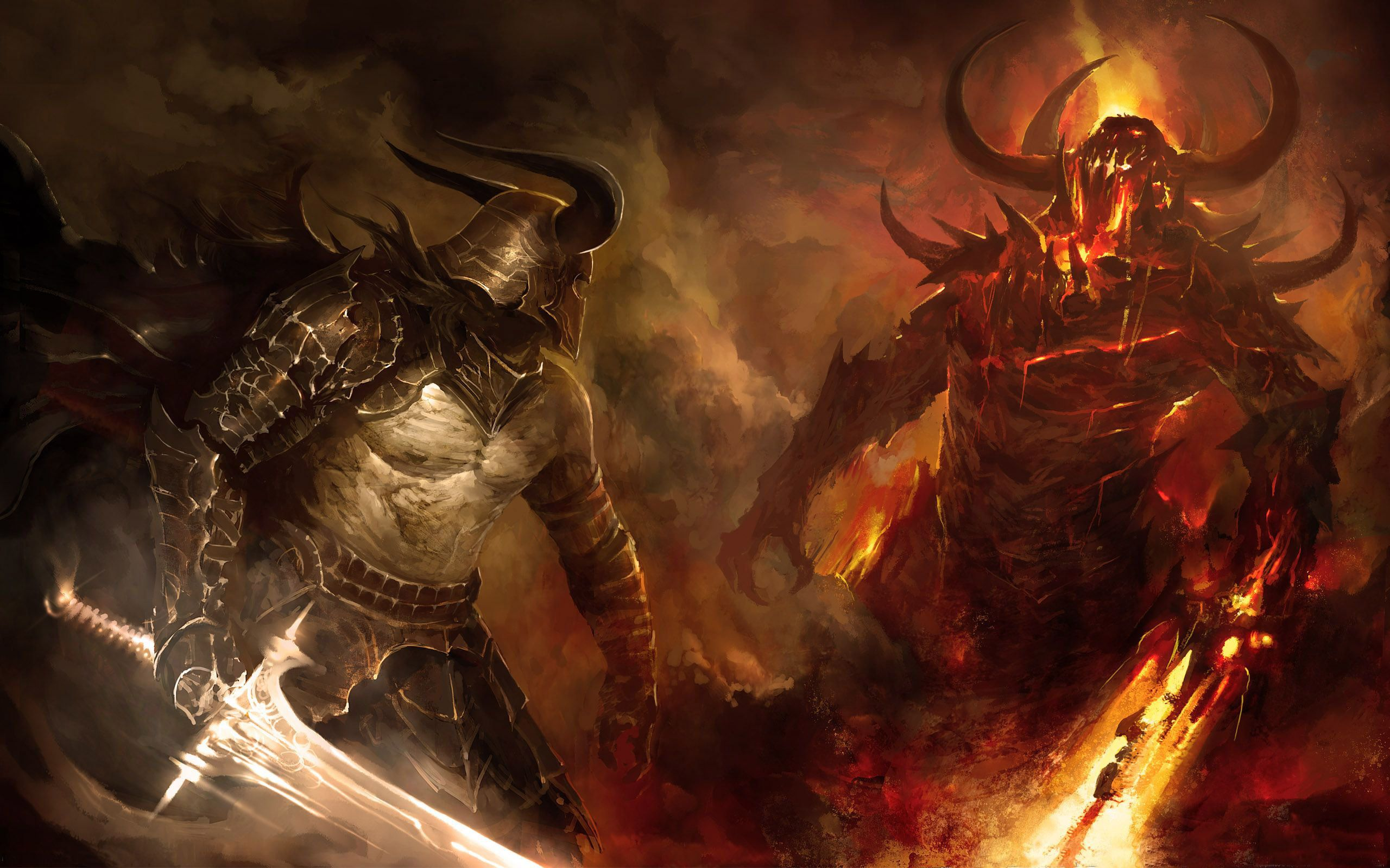 demons vs angels - Google Search | Good Vs Evil | Fantasy
