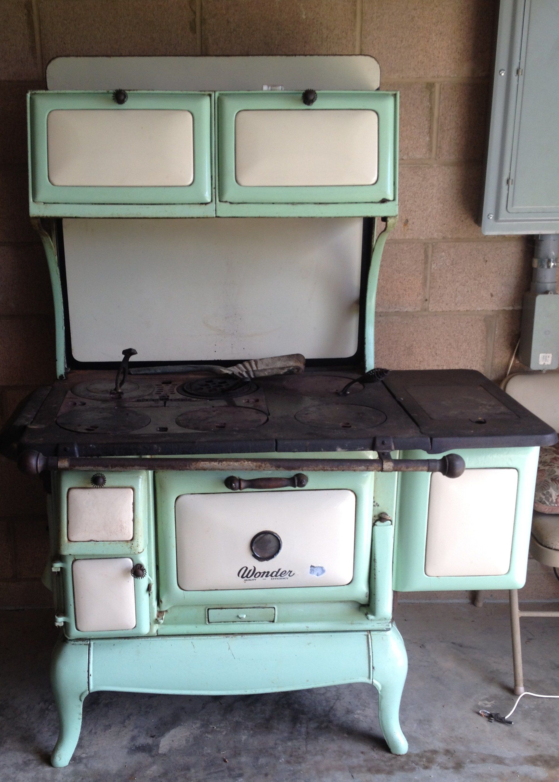 antique wood burning cook stove. $700.00 located in south shore, ky