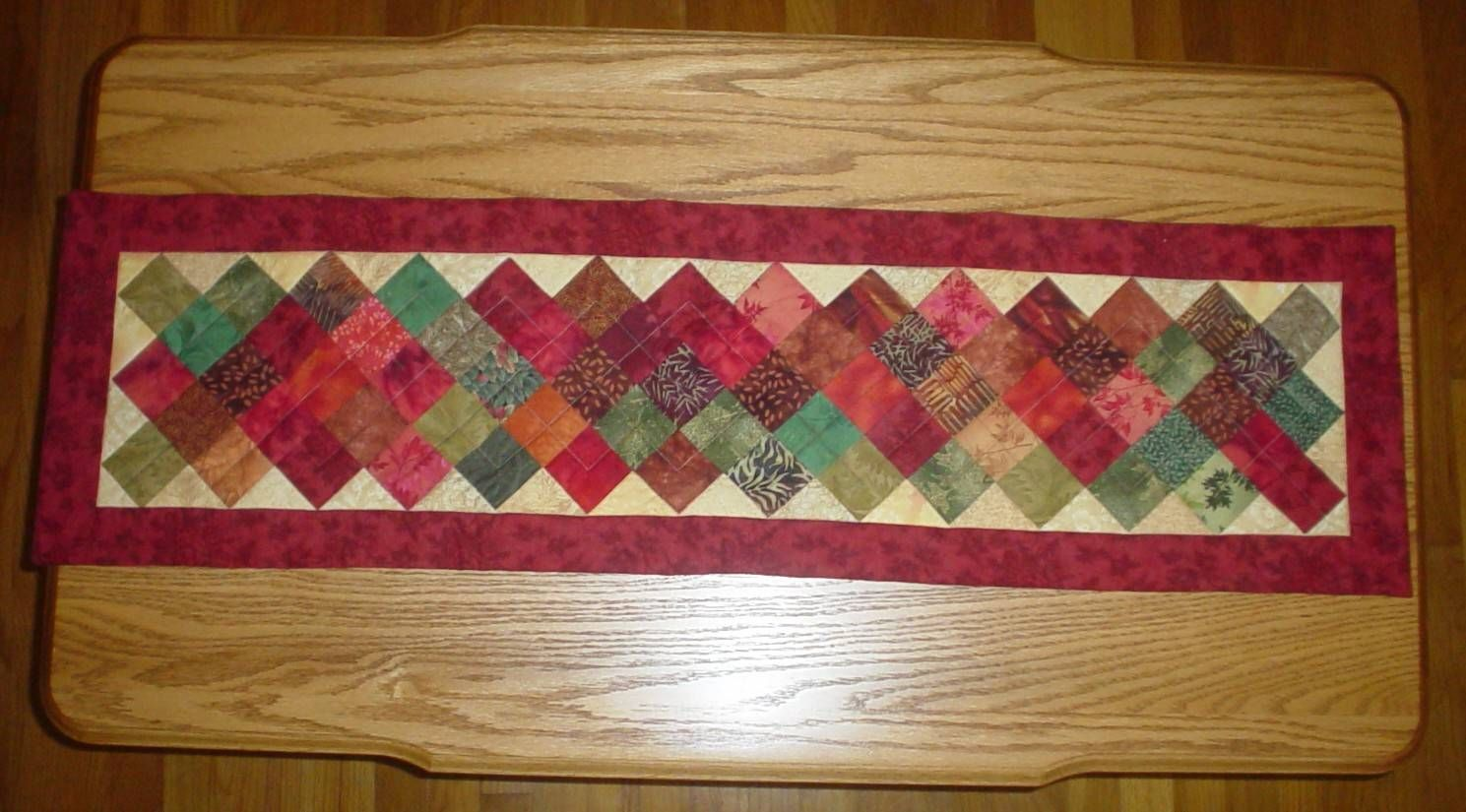 Quilted Fall Table Runners Patterns Quilted With Tlc