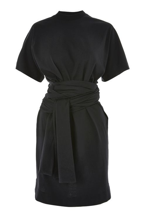 TOPSHOP Jersey Wrap Waist T-Shirt Dress by Boutique - AVAILABLE HERE: http://rstyle.me/n/ctd25sbcukx