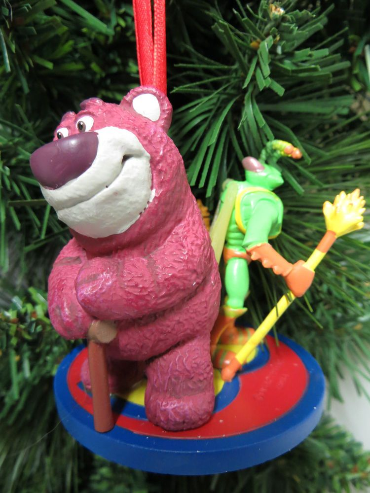 Details About Disney Toy Story 3 Lotso Bear Chunk Twitch Christmas Ornament New Holiday Gift Christmas Ornaments Christmas Fun Toy Story 3
