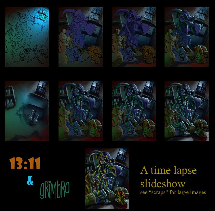 Uncle Deadly step by step by *Grimbro on deviantART