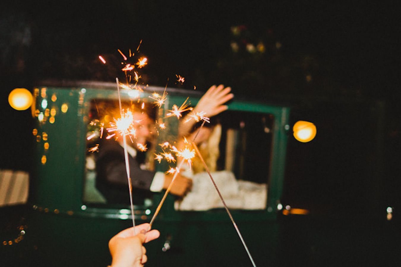 Wedding Sparkler Send Off | Fab Mood