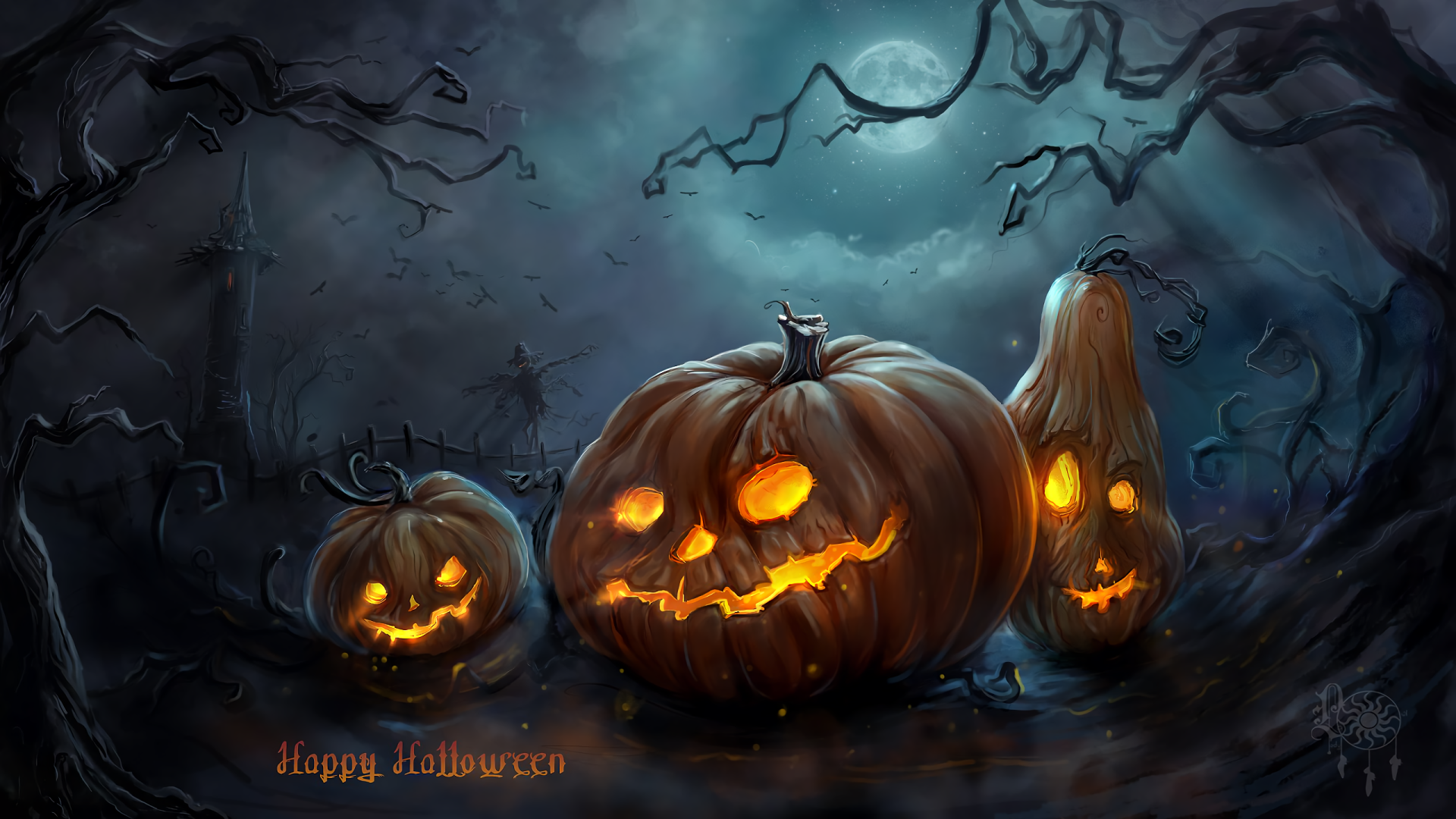 2560x1440 Halloween Wallpaper Background Image View Download