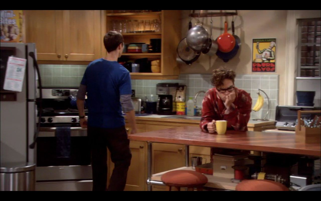 Big Bang Theory--kitchen island inspiration | Apartment ...