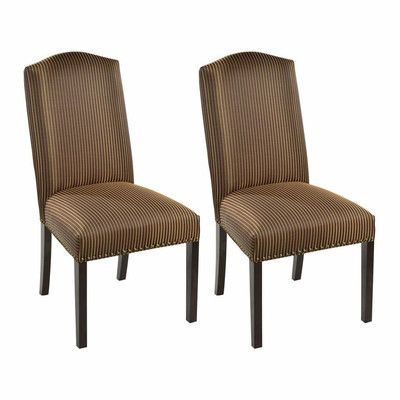 Sole Designs Side Chair Upholstery: Marbella Mahogany