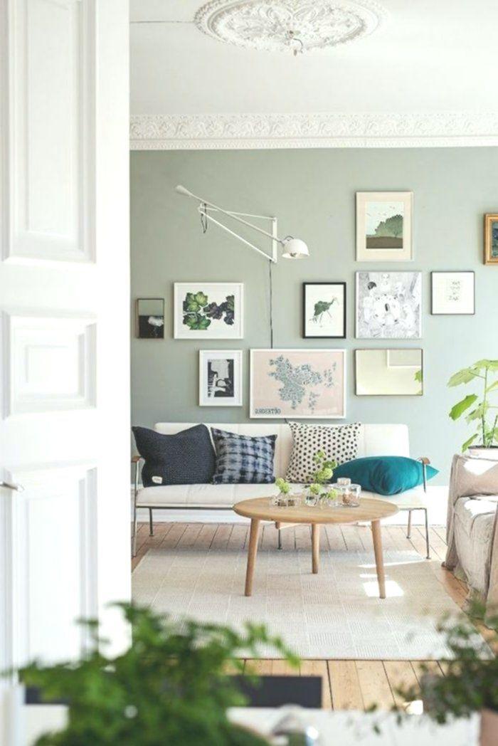 Photo of Wohnidee Wohnzimmer – Richten Sie Ihr Wohnzimmer in Grün ein