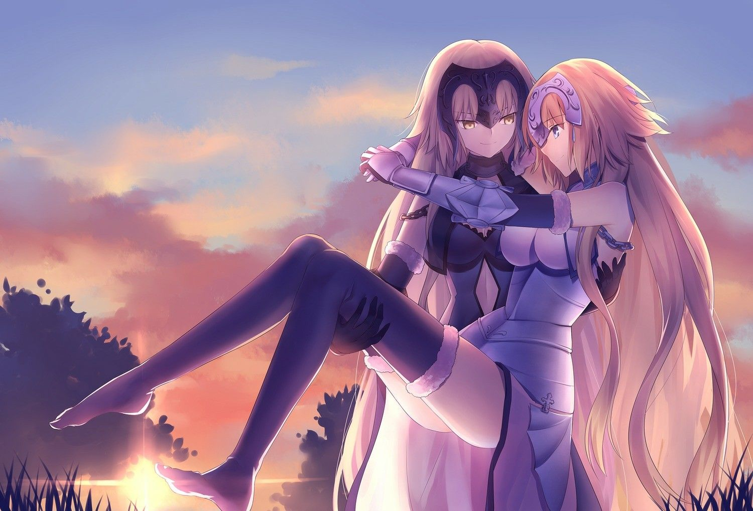 Pin by Shawna Zeigler on Jeanne D' Arc Fate stay night anime