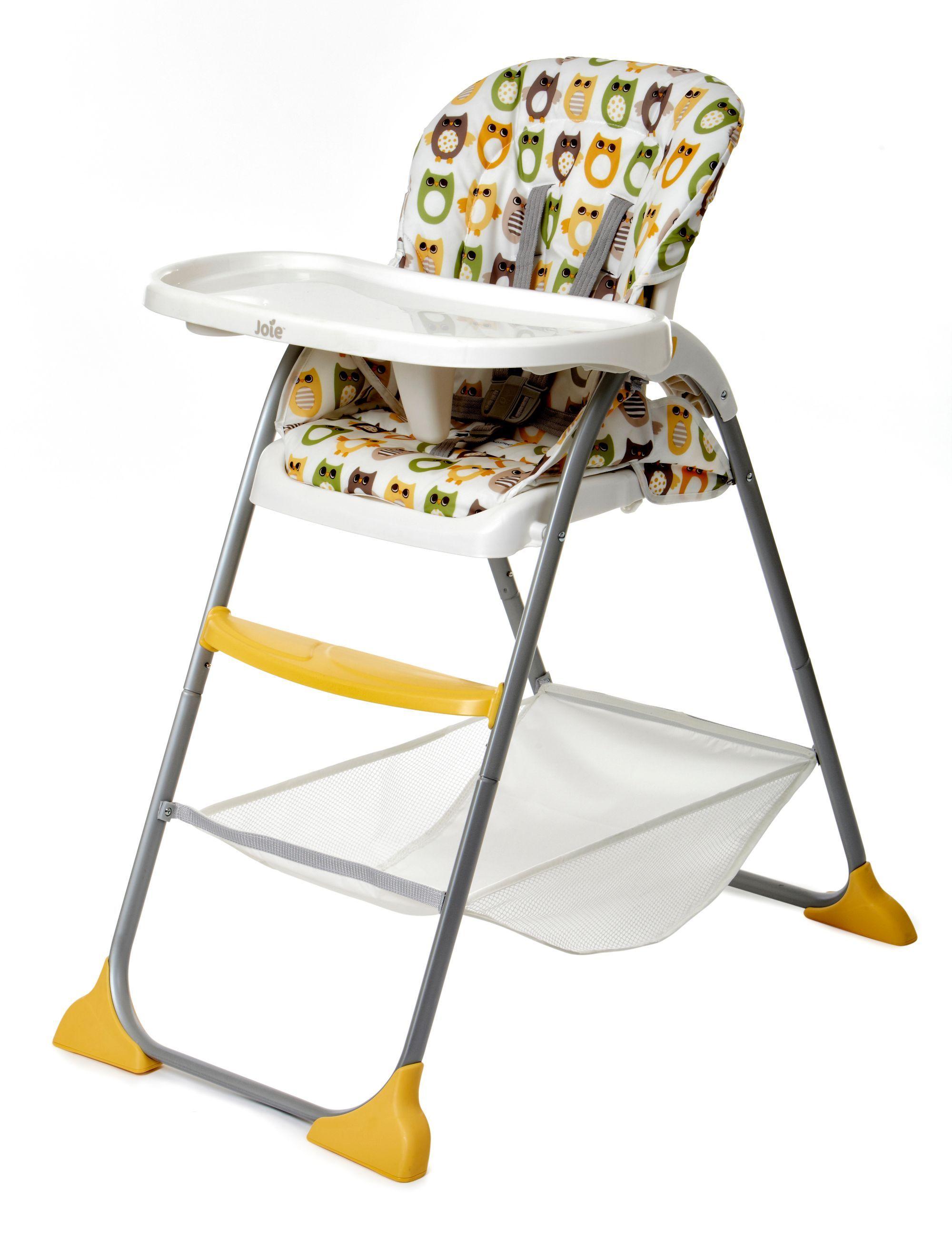 Joie Mimzy Snacker Highchair Owls High chair, Folding