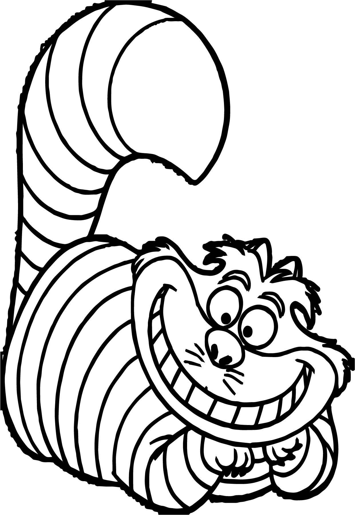 Cat In The Hat Fish Coloring Page Face Pages Cute Cats