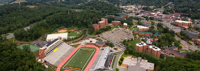 Appalachian State University / Visit University, Places