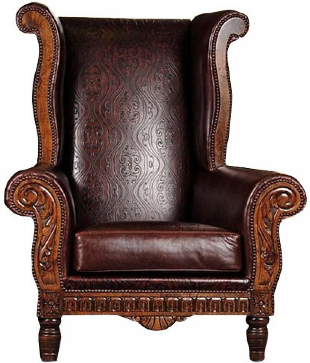 leather chesterfield style sofa chesterfield leather armchair pottery barn thesofa. Black Bedroom Furniture Sets. Home Design Ideas
