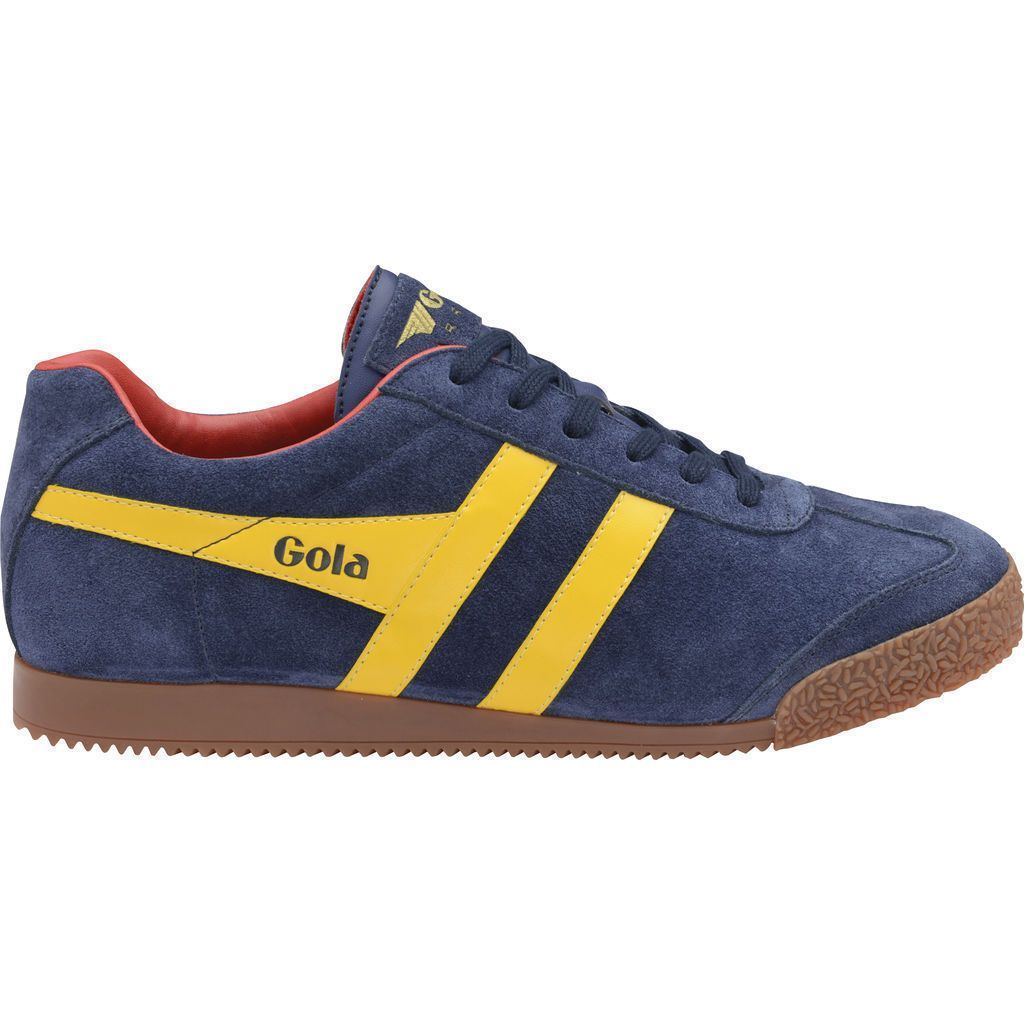 Mens Harrier Suede Low-Top Sneakers Gola Acg5rry3e