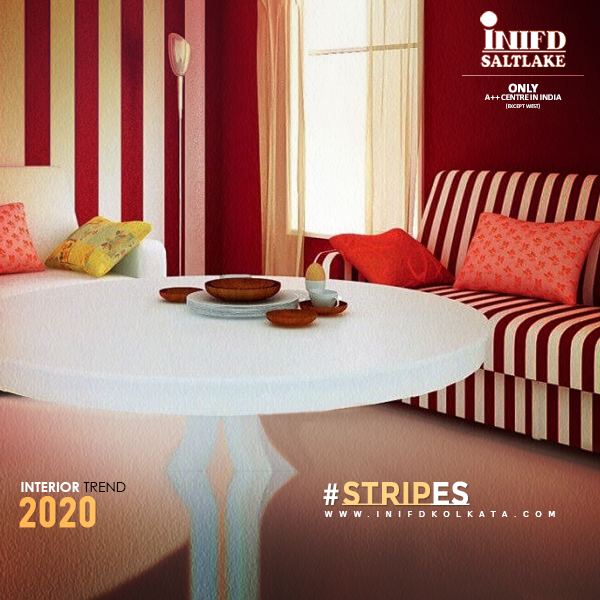 || Interior Trend - Stripes ||  Stripes are so in trend. Narrower or monochromatic stripes look beautiful. From bed sheets to cuisine covers, stripes make everything look classy.  #StripesTrend #Stripes #DecorStyle #CuisineCovers #DesignTrend #Interior #Trend #TrendyDecor #InteriorDesigning #INIFDSaltlake #INIFDKolkata