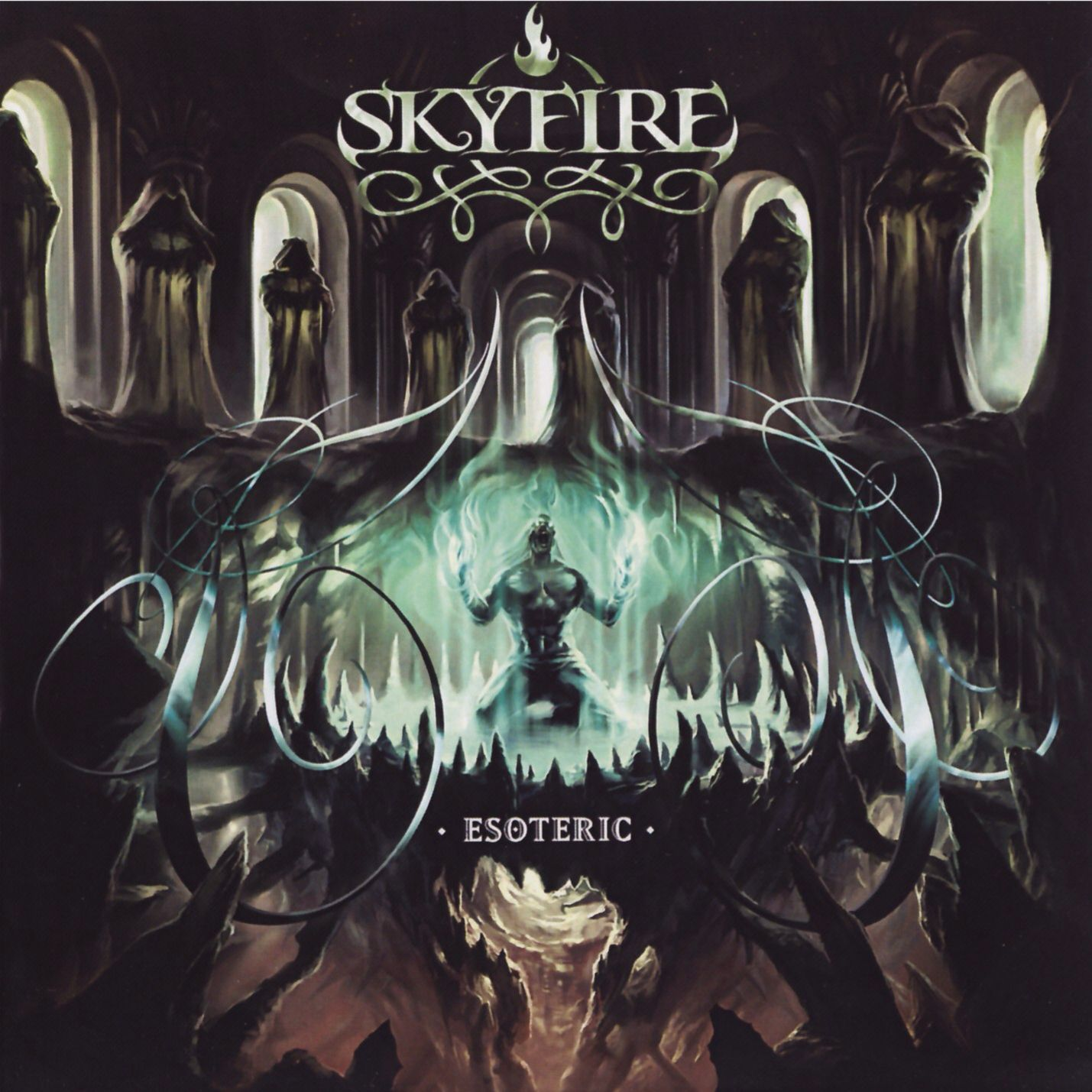Skyfire - Esoteric | Best Album Covers | Death metal, Metal albums
