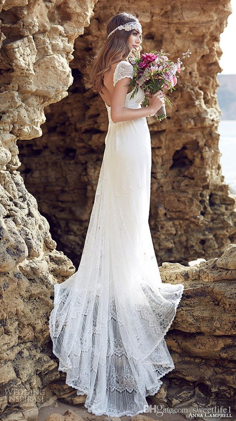 beautiful grecian beach wedding dresses ideas dress ideas