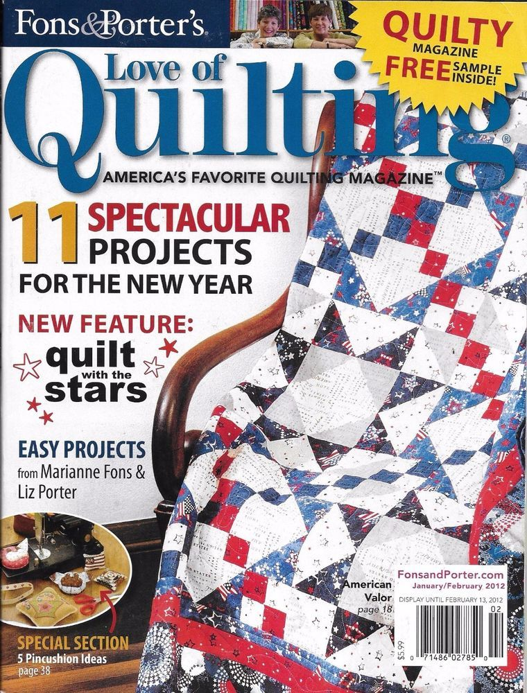 quilts winter pattern publisher magazine by quickly from porters love renewal quilt baby quilting of fons porter magazines the and on