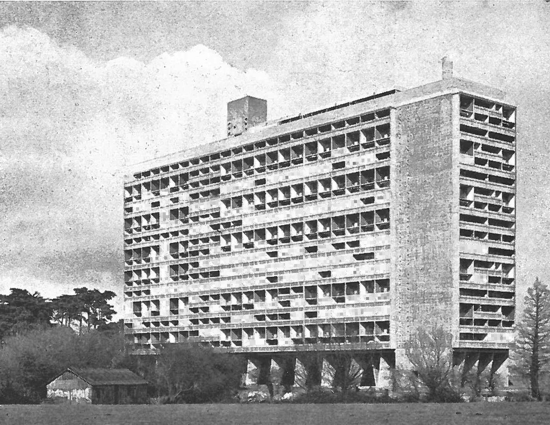 Beliebt Unité d'Habitation a Nantes-Rezé (Cité radieuse de Rezé); Le  TZ93