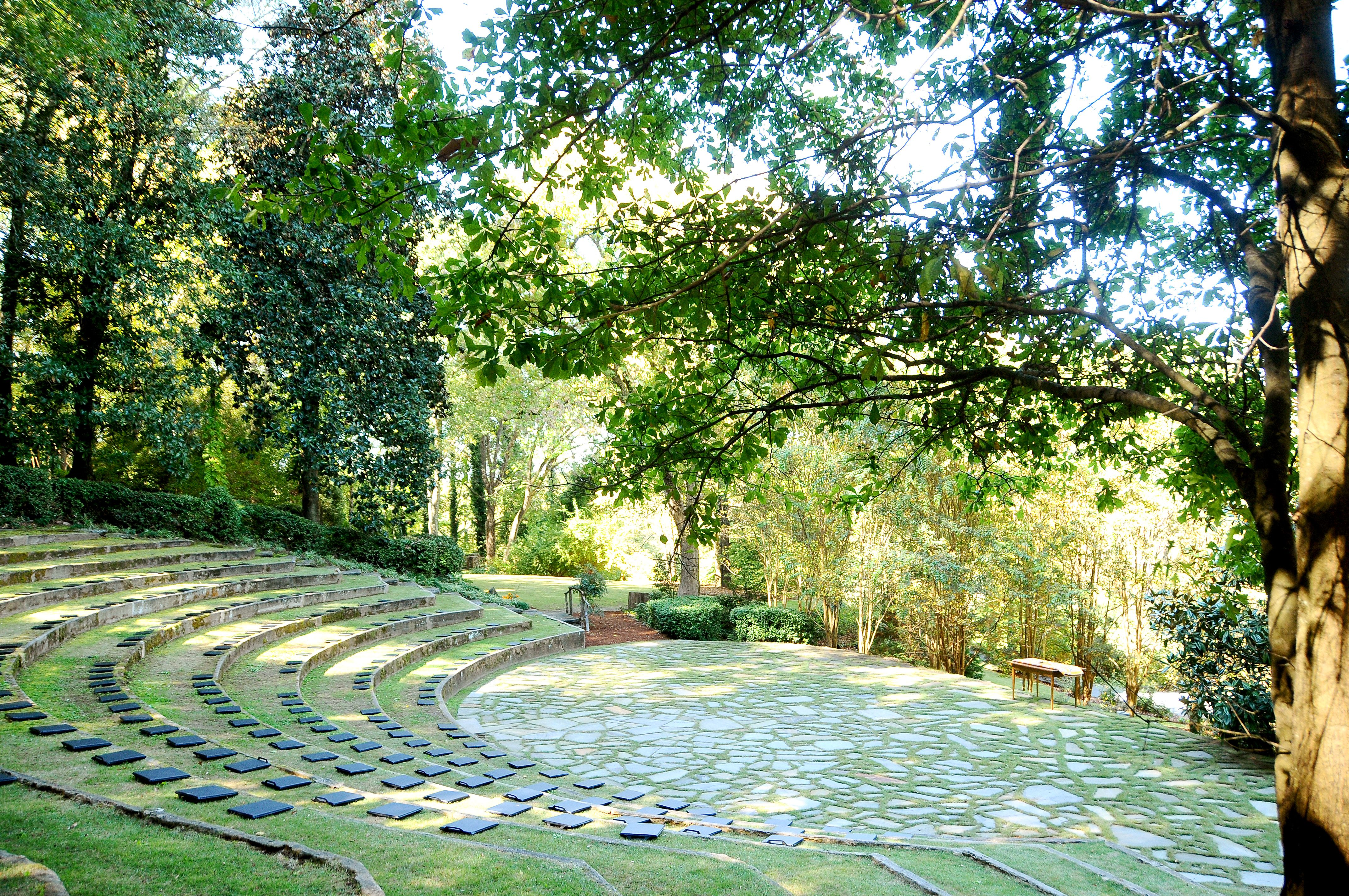 Ceremony Site Located At Dunaway Gardens Newnan Ga She Does He