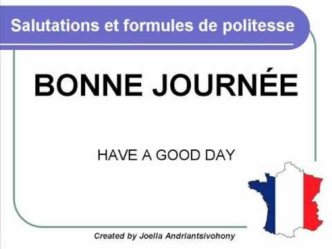 French lesson 3 salutations greetings and polite words saludar french lesson 3 salutations greetings and polite words saludar cursos clases de m4hsunfo