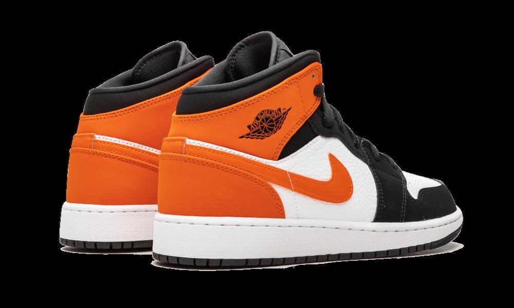 Nike Air Jordan Retro 1 Mid Shattered Backboard Starfish 554724 ...