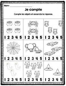 count worksheet halloween halloween math halloween worksheets halloween crafts. Black Bedroom Furniture Sets. Home Design Ideas