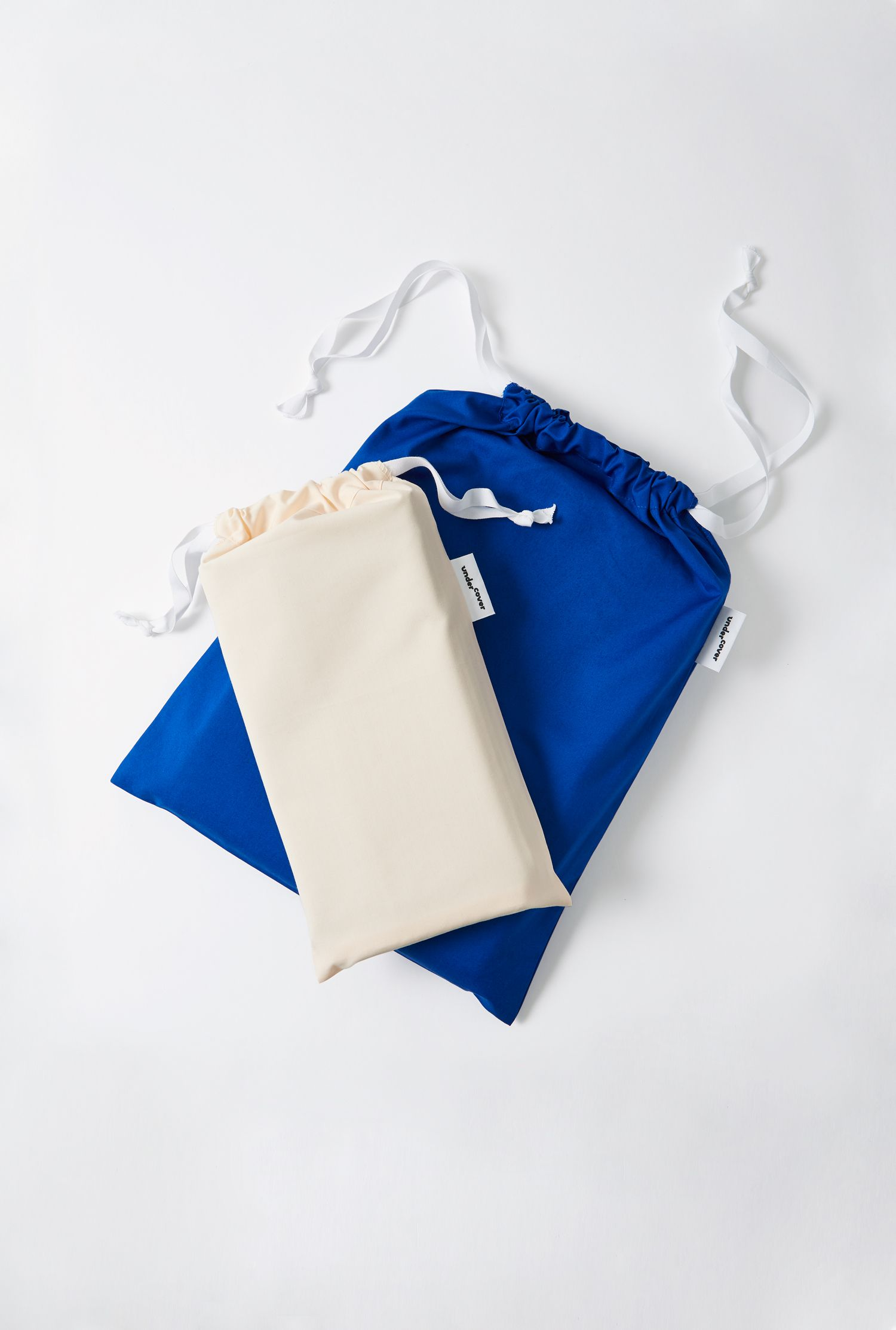 All our items come in matching drawstring bags! We also