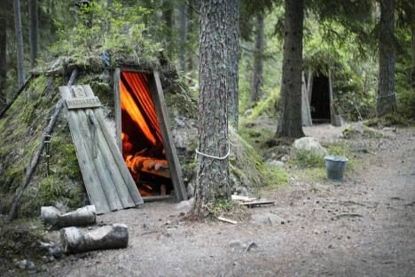 Ruotsin primitiivisin hotelli.