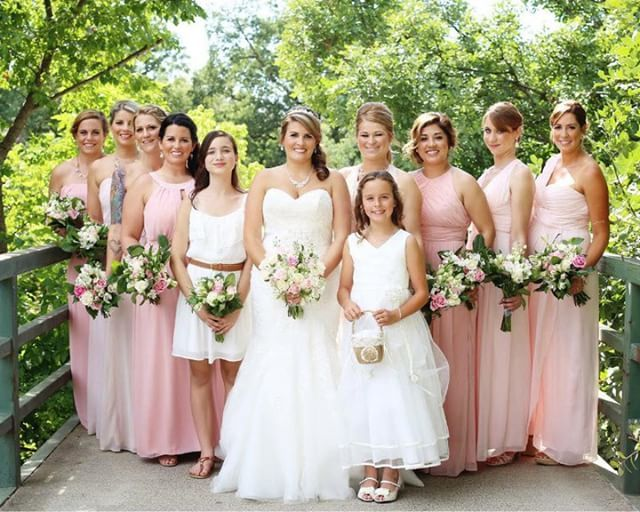 b48e126da26 Pink Bridesmaid Dresses Dessy 2887