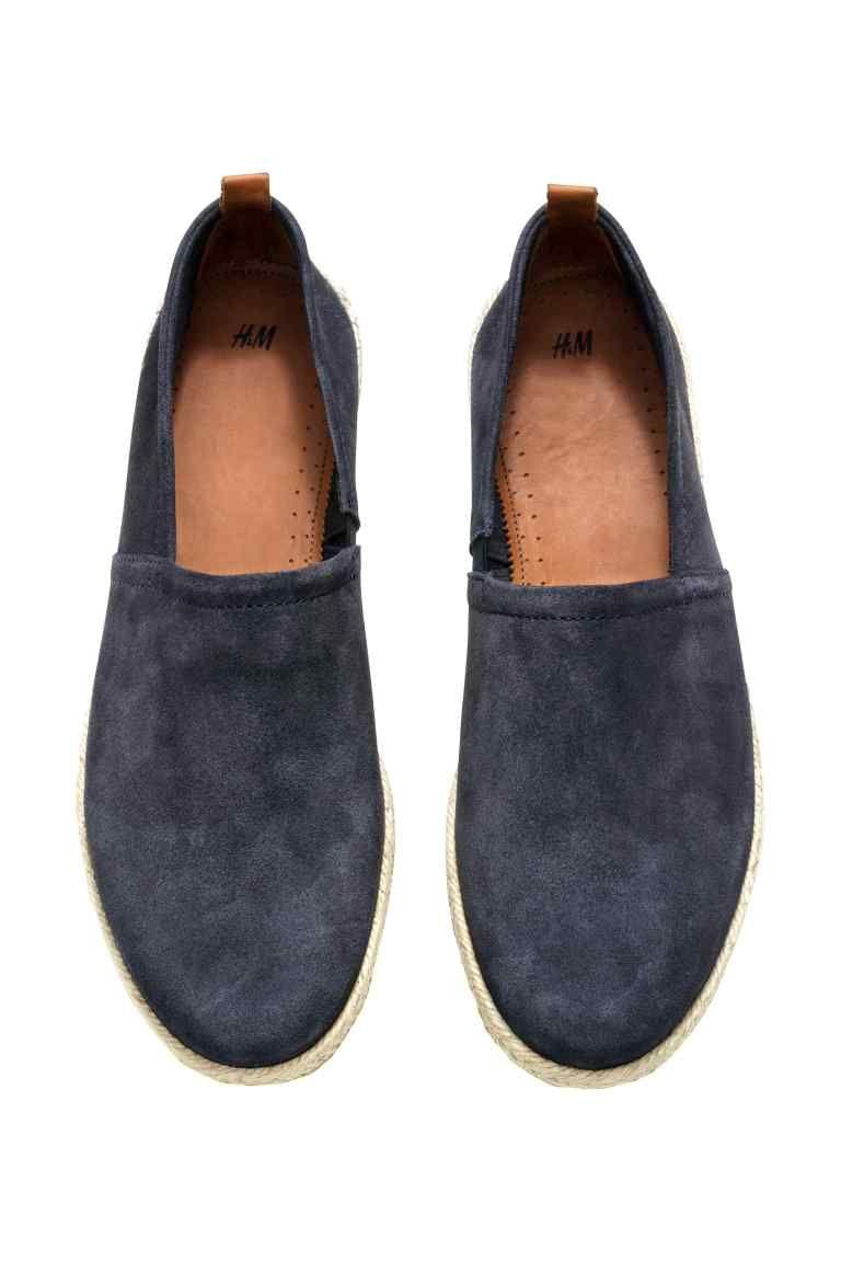 Para estrenar f6596 1b92f Esparteñas de ante | H&M | model | Espadrilles, Shoes, Flats