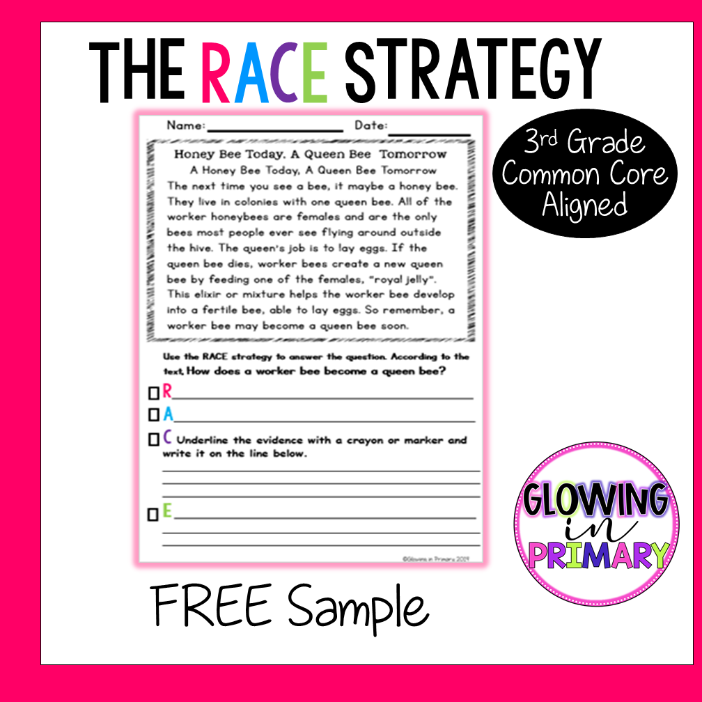 Free The Race Writing Race Writing Races Writing Strategy Writing Rubric [ 1008 x 1008 Pixel ]