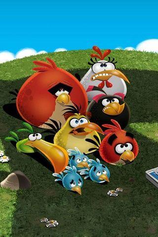Angry Birds BirdsBird WallpaperMobile