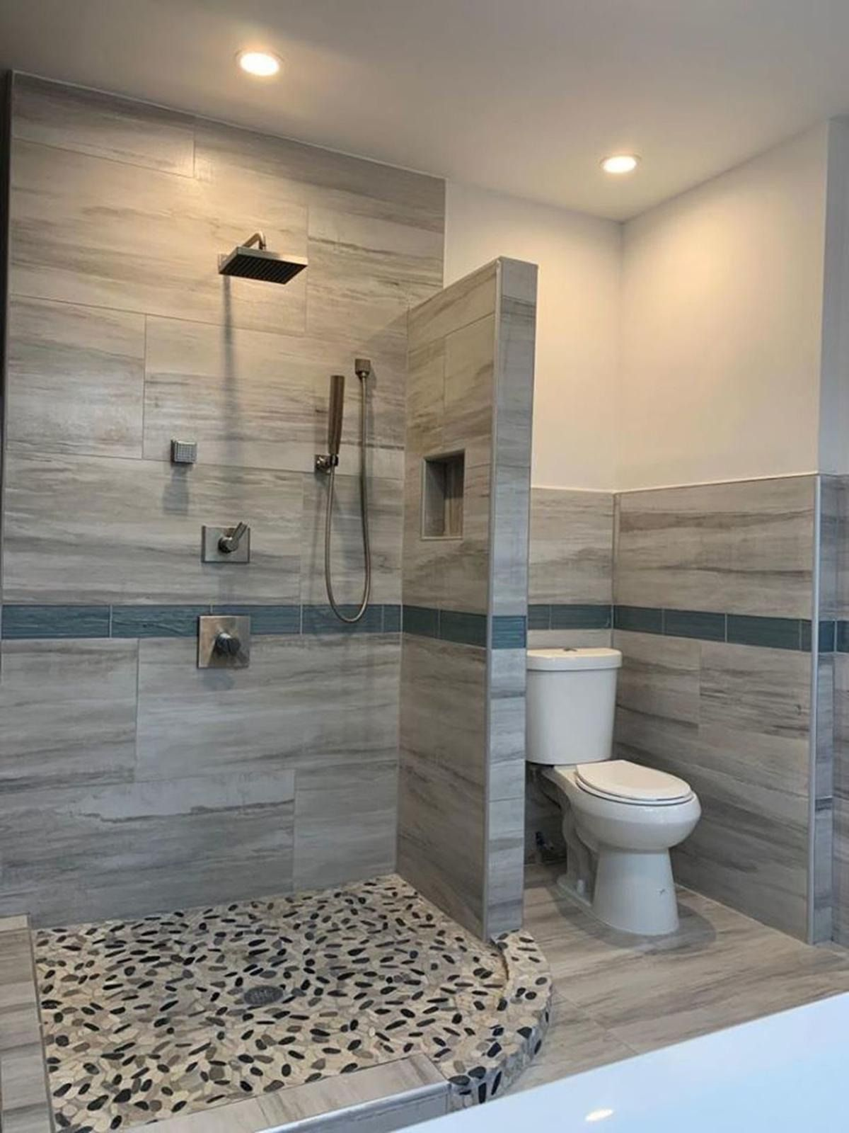 A Bathroom Without Doors A West Philly Apartment Tests The Open Concept Bathroom Open Bathroom Showers Without Doors