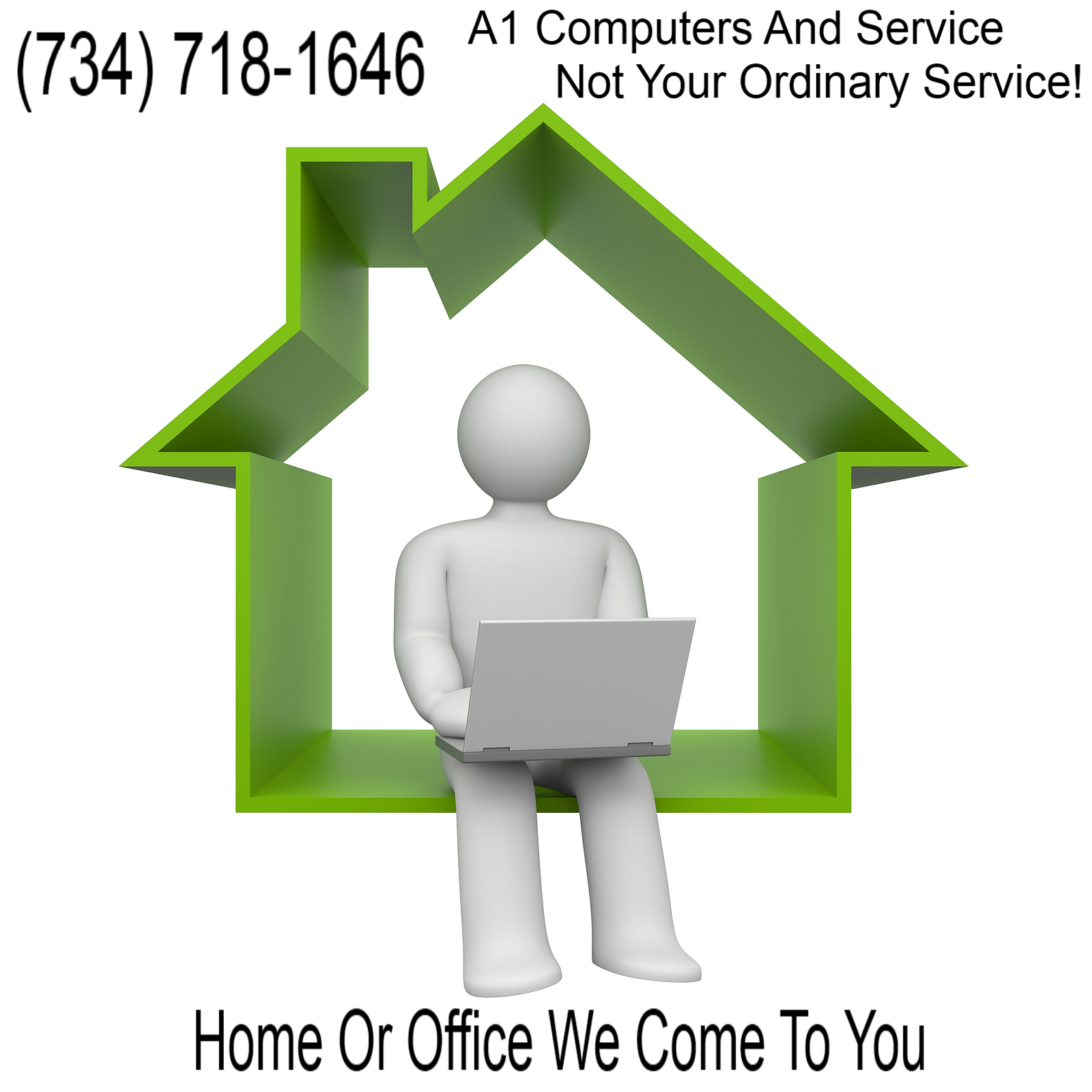 Onsite At Home or Business Computer Repair Service Home