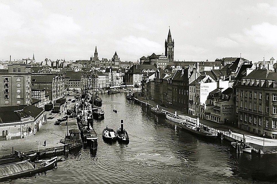 старый кенигсберг фото города коллекции лувра хранят