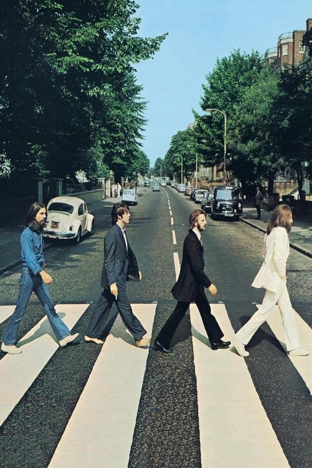 Beatles Abbey Road Cover Android Wallpaper Beatles