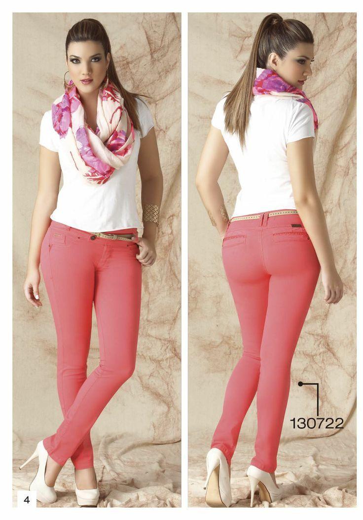 pantalon color rosado