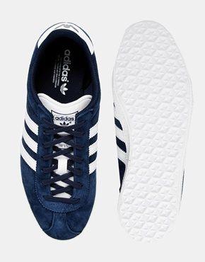 Enlarge Adidas Originals Gazelle OG Indigo Trainers