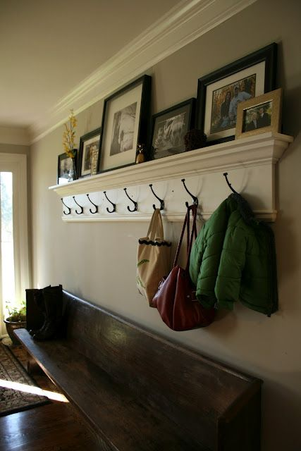 I'm Making This Shelf Went To Home Depot Today Will Have To Post Beauteous Home Depot Coat Rack Wall