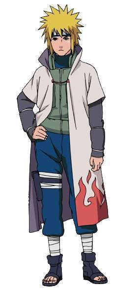 Minato Namikaze Fourth Hokage Anime Naruto Naruto Characters Naruto Minato