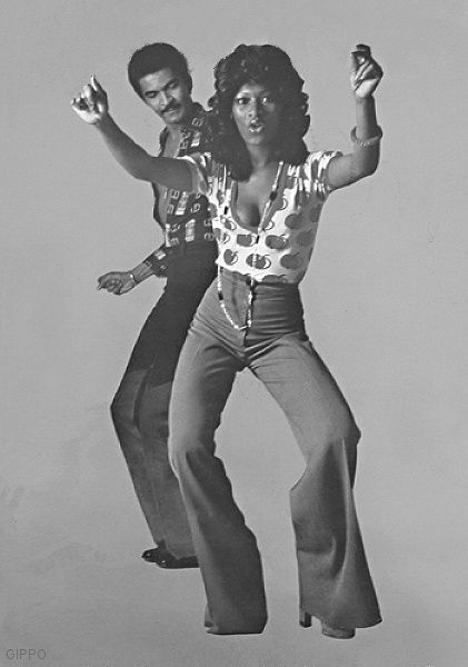 The 70's I remember Disco - you look at your feet and say, Dis go here, and dis go there!