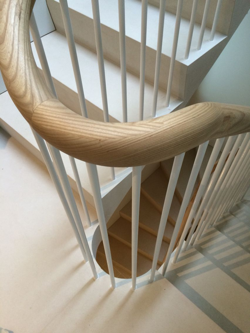 Best A Neat Details Of Spindles And Ash Handrail A For A 400 x 300