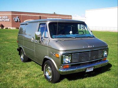 1977 Chevy Van 1977 Chevy Gmc Vandura 1500 Van One Owner Excellent Condition Gmc Vans Chevy Van Custom Vans