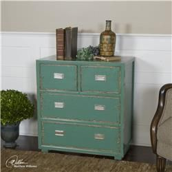 Aquias Hand-Painted Accent Chest