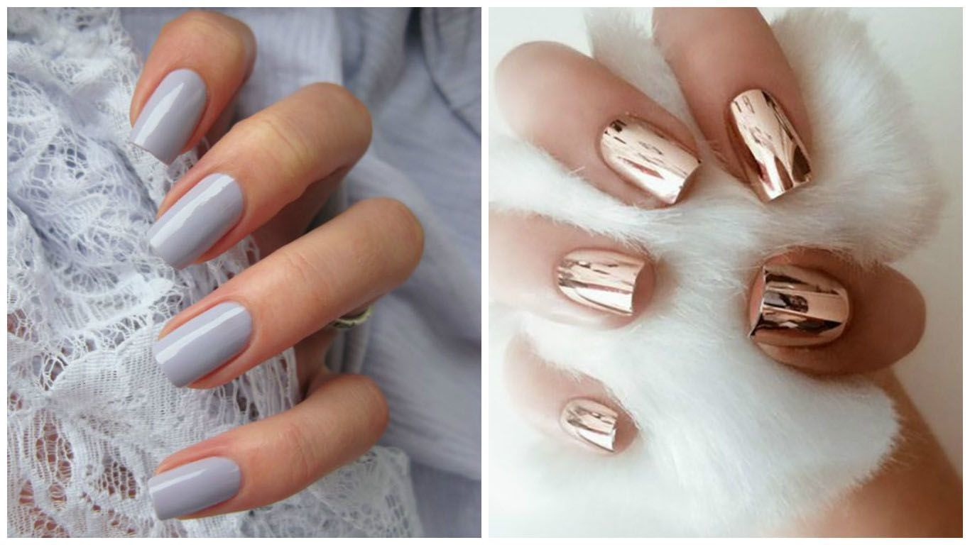 The 7 Different Nail Shapes: Find What Suits You | Acrylic nail ...