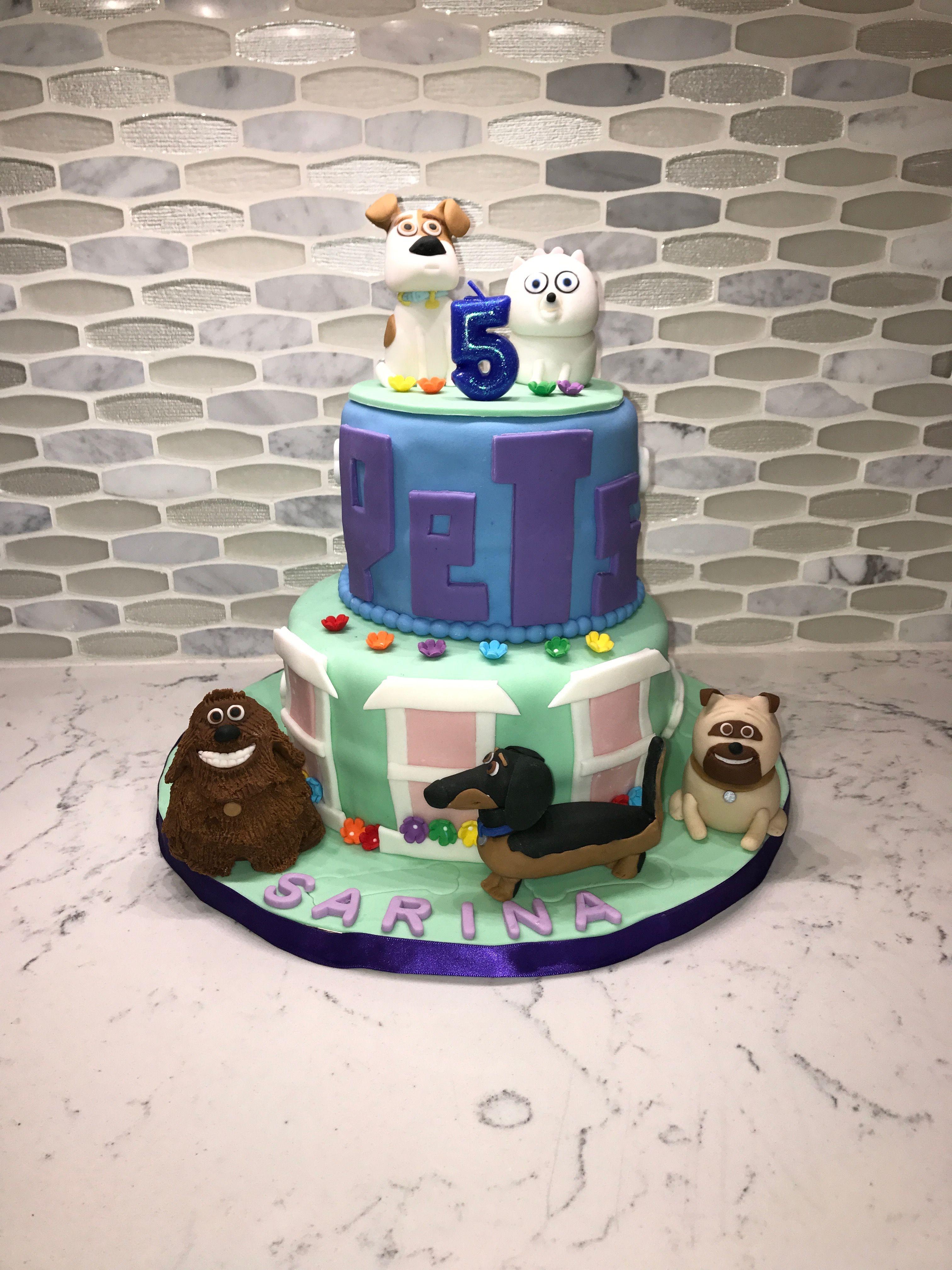 The Secret Life Of Pets Cake Cake Designs Secret Life Of Pets