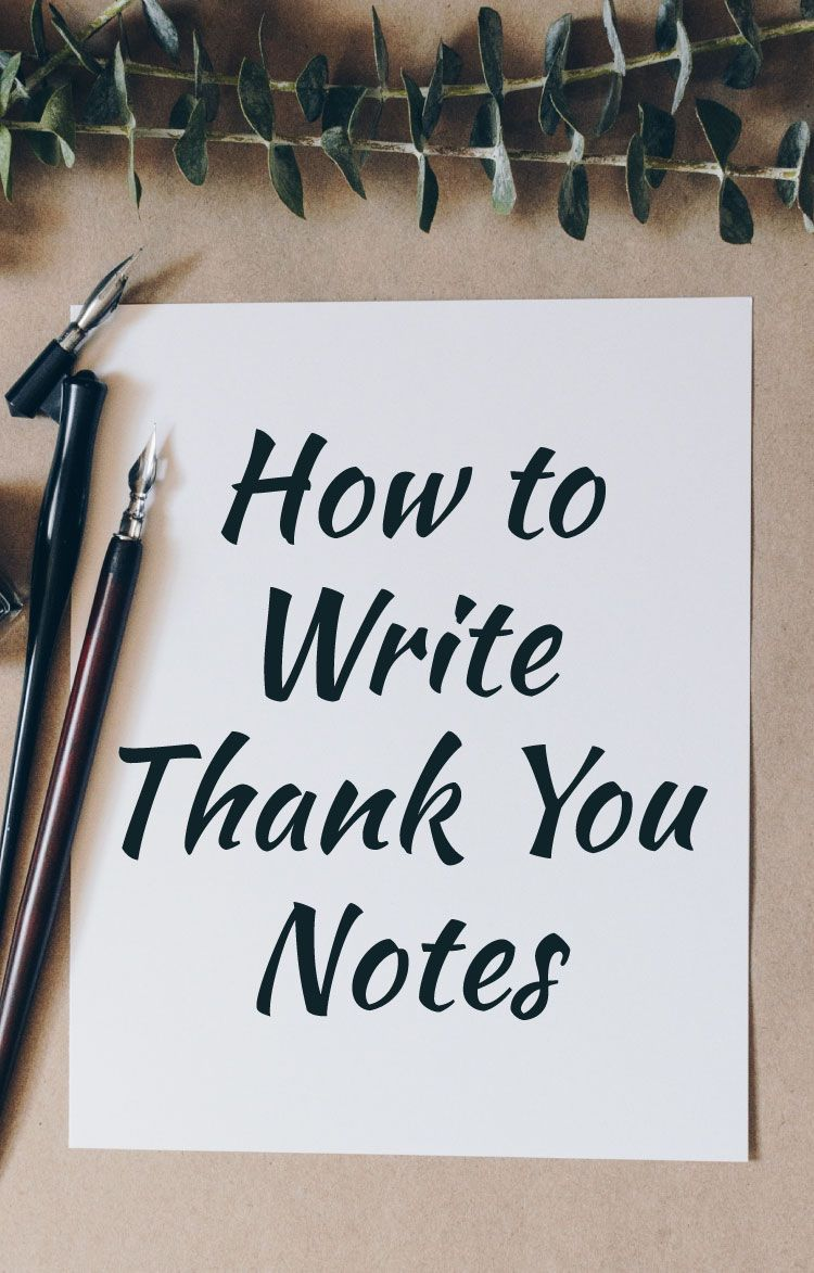 How To Write A Thank You Note For Any Occasion With 3 Examples